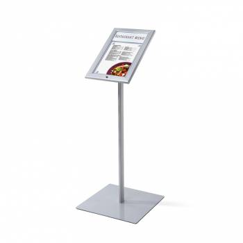 Outdoor lockable illuminated LED Menu Stand 1xA4