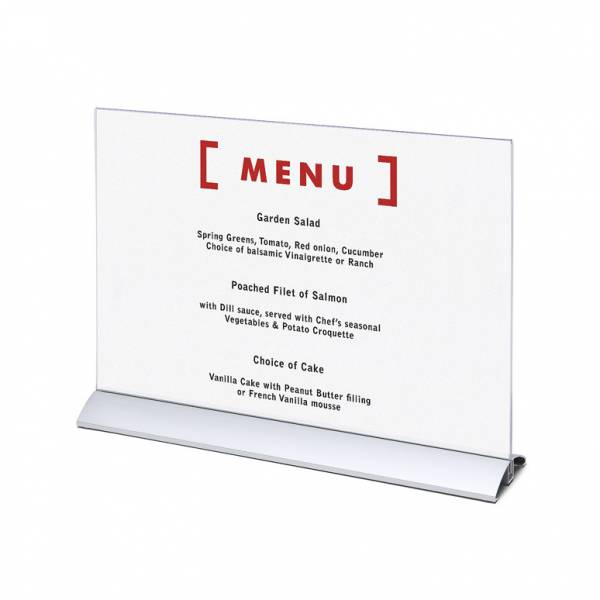 Menu Card Holder A3 Horizontal