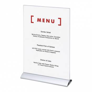Menu Card Holder A3 Vertical