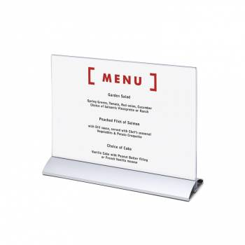 Menu Card Holder A4