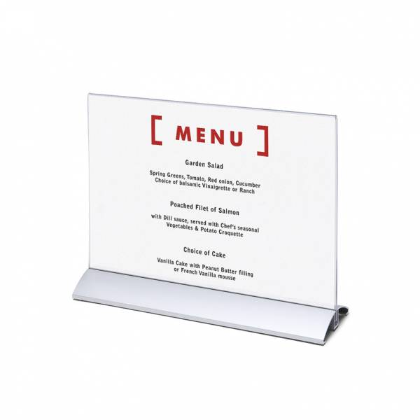 Menu Card Holder A4
