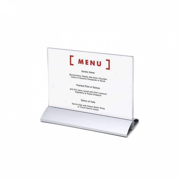 Menu Card Holder A5 Horizontal