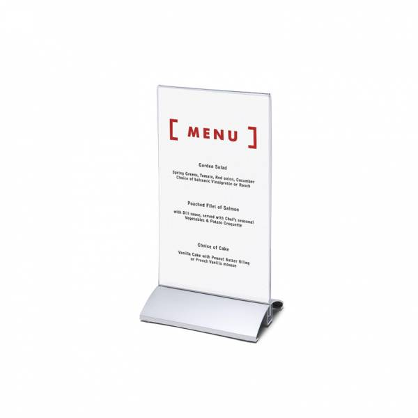 Landscape Premium Menu Holder