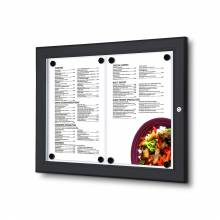 Black Display / LED Menu