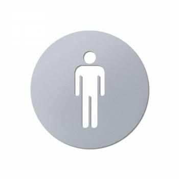Info Signs Wall 3D laser cut Men