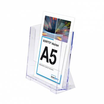 A5 Portrait Leaflet Holder - Wall & Counter Display