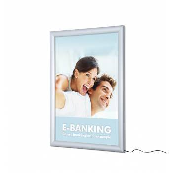 A2 LED 30mm Poster Light Box