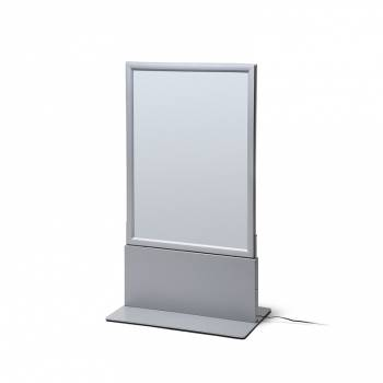 Freestanding A1 Double-sided LED Light Box - Snap frame light box