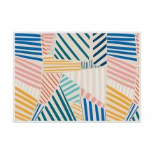 Placemat Colourful Shapes 2