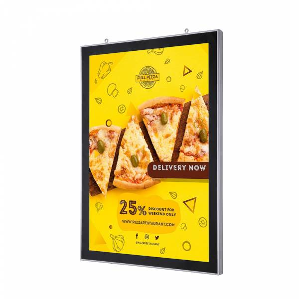Double-Sided LED Magnetic Poster Frame (A2)
