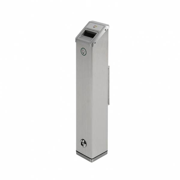 Outdoor Wall Mounted Ashtray Square