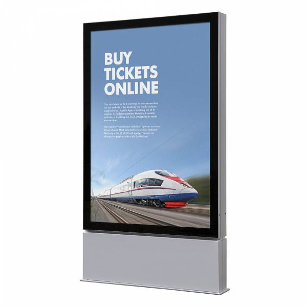 Double sided LED Outdoor Premium Poster Case, IP56 Certification