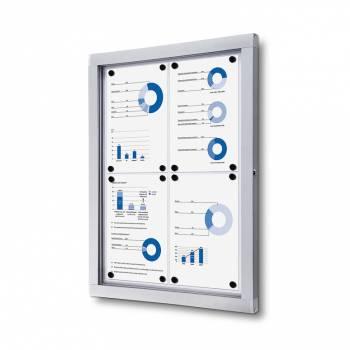 Lockable Notice Board SCO, 4xA4