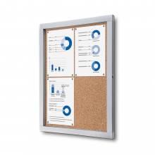 Cork Noticeboard Premium (4xA4)