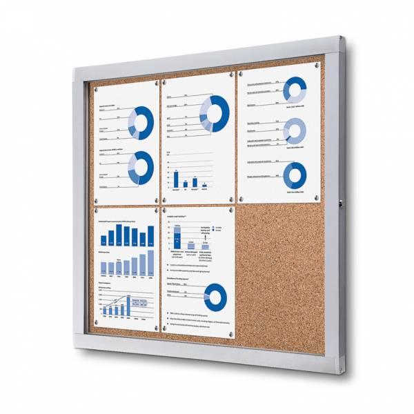 Cork Noticeboard Premium (6xA4)