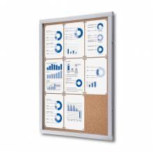Cork Noticeboard Premium (9xA4)