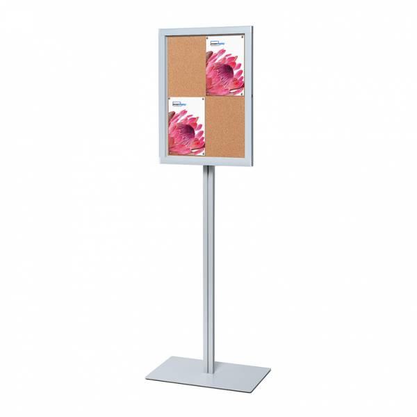 Freestanding Cork Noticeboard Premium (4xA4)