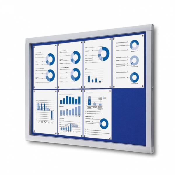 Felt Noticeboard Premium (Blue - 8xA4)