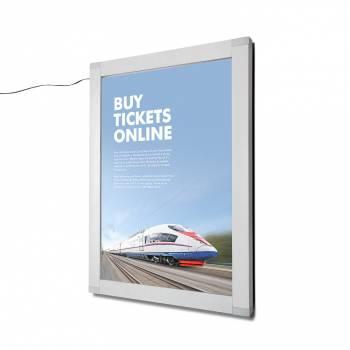 50x70cm Lockable Indoor/Outdoor LED illuminated Poster Case