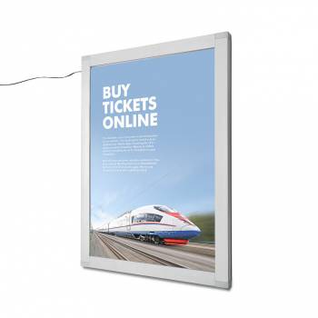 A1 Lockable Indoor/Outdoor LED illuminated Poster Case
