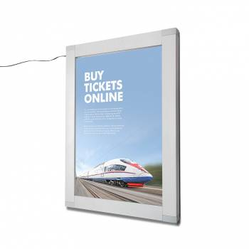 A2 Lockable Indoor/Outdoor LED illuminated Poster Case