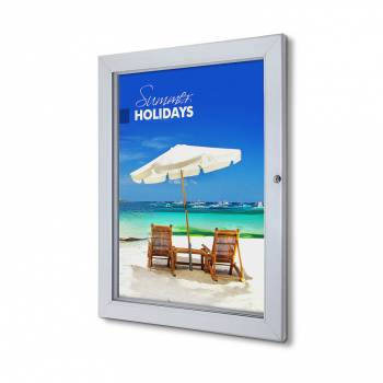 50x70cm Lockable Poster Case Premium