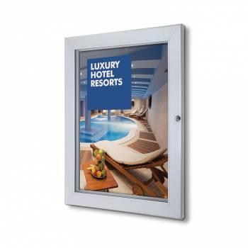 A2 Lockable Poster Case Plus