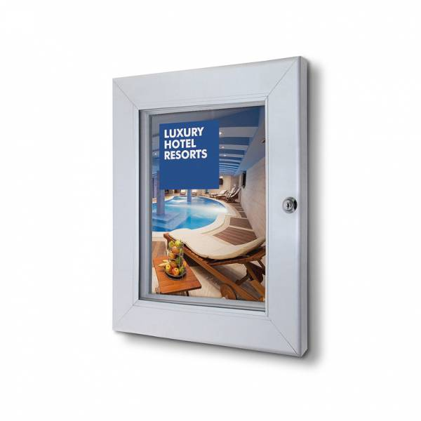 Lockable Poster Case - Plus (A4)