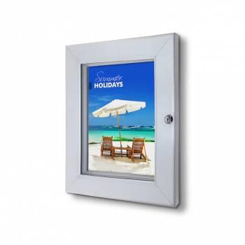 A4 Lockable Poster Case Premium