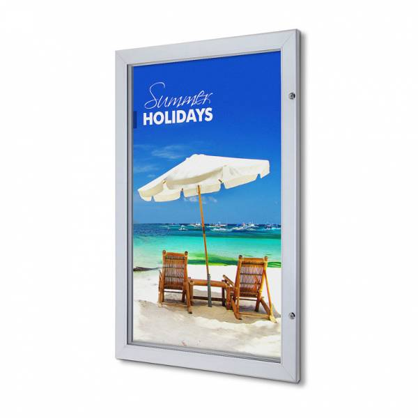 Lockable Poster Case - Premium (63.5x101.6)
