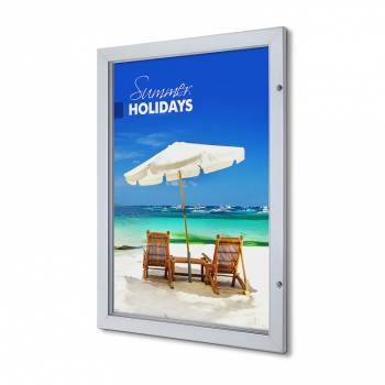 70x100cm Lockable Poster Case Premium