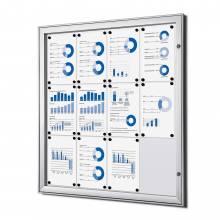 Noticeboard Indoor / Outdoor (12xA4)