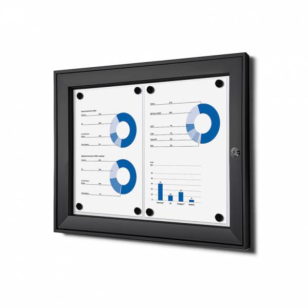 Black Noticeboard Indoor / Outdoor (2xA4)
