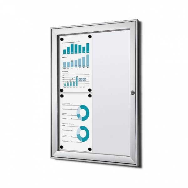 Fire-proof Noticeboard Indoor / Outdoor (4xA4)