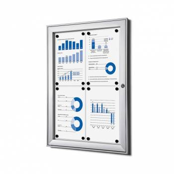 Outdoor Notice Board - Lockable