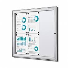 Fire-proof Noticeboard Indoor / Outdoor (6xA4)