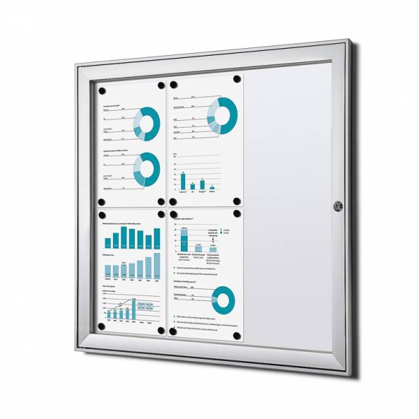 Fire-proof Noticeboard Indoor / Outdoor (6xA4)