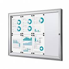 Fire-proof Noticeboard Indoor / Outdoor (8xA4)