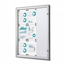 Fire-proof Noticeboard Indoor / Outdoor (9xA4)