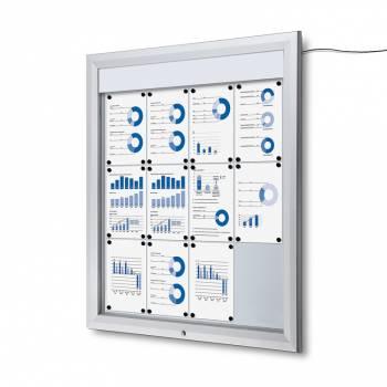 SCT LED Premium Notice Board 12xA4