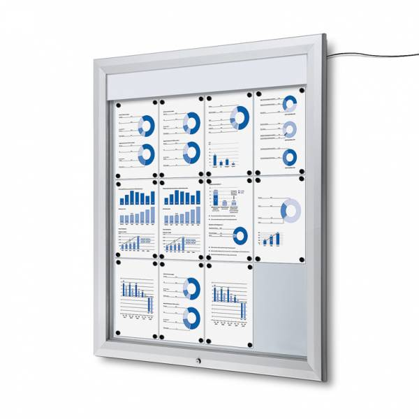 Outdoor Noticeboard LED  (12xA4)