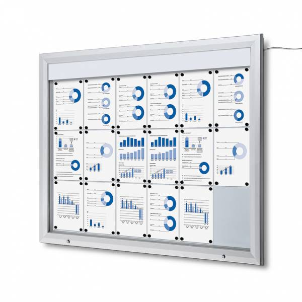 Outdoor Noticeboard LED  (18xA4)