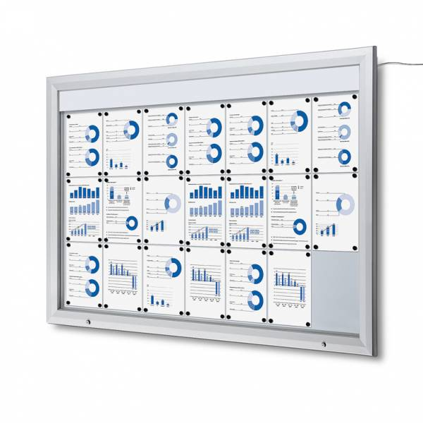 Outdoor Noticeboard LED  (21xA4)