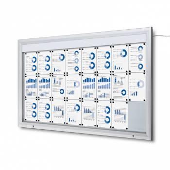 SCT LED Premium Notice Board 24xA4