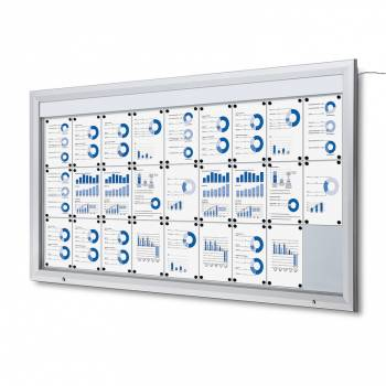 SCT LED Premium Notice Board 27xA4