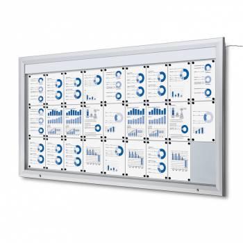 SCT LED Premium Notice Board 27xA4