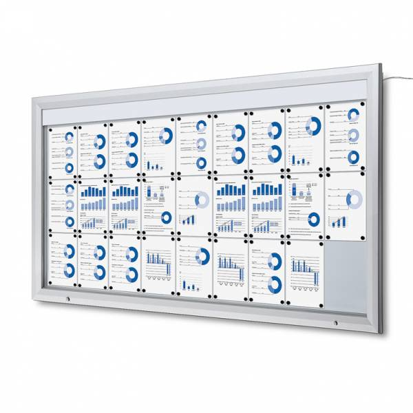 Outdoor Noticeboard LED  (27xA4)