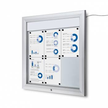 SCT LED Premium Notice Board 6xA4
