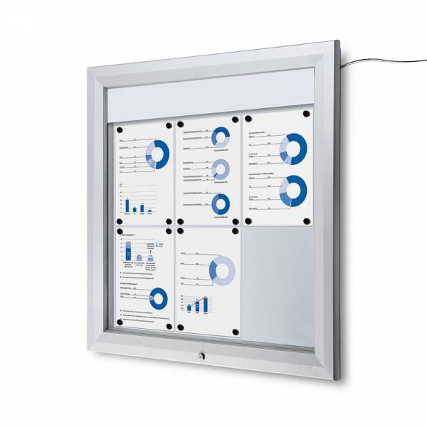 Outdoor Noticeboard LED  (6xA4)