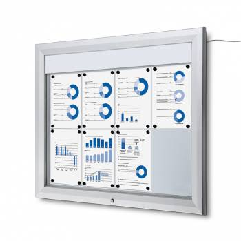 SCT LED Premium Notice Board 8xA4